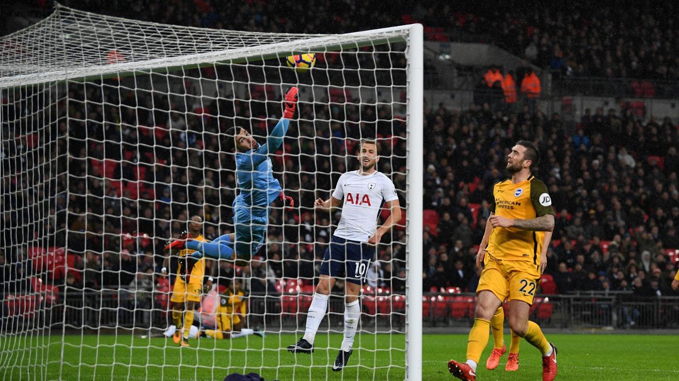Kết quả hình ảnh cho Brighton vs Tottenham