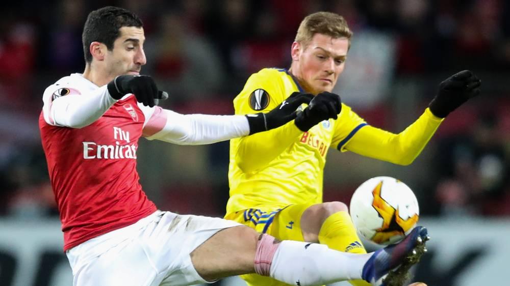 Arsenal - BATE Borisov: Không thắng, nguy đủ đường